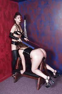 Outstanding Assed Babes Getting Their Booties Spanked