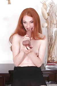 Sexy Ginger Gets Anal Fucking And Dildo Plugging